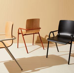 Full Hurdle Chairs by Dowel Jones