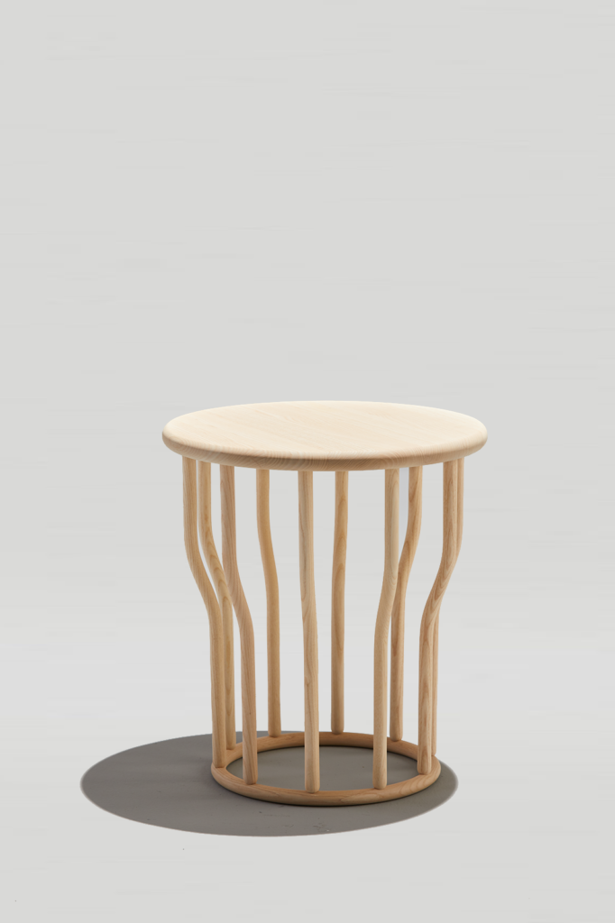 Lewis Side Table in Natural